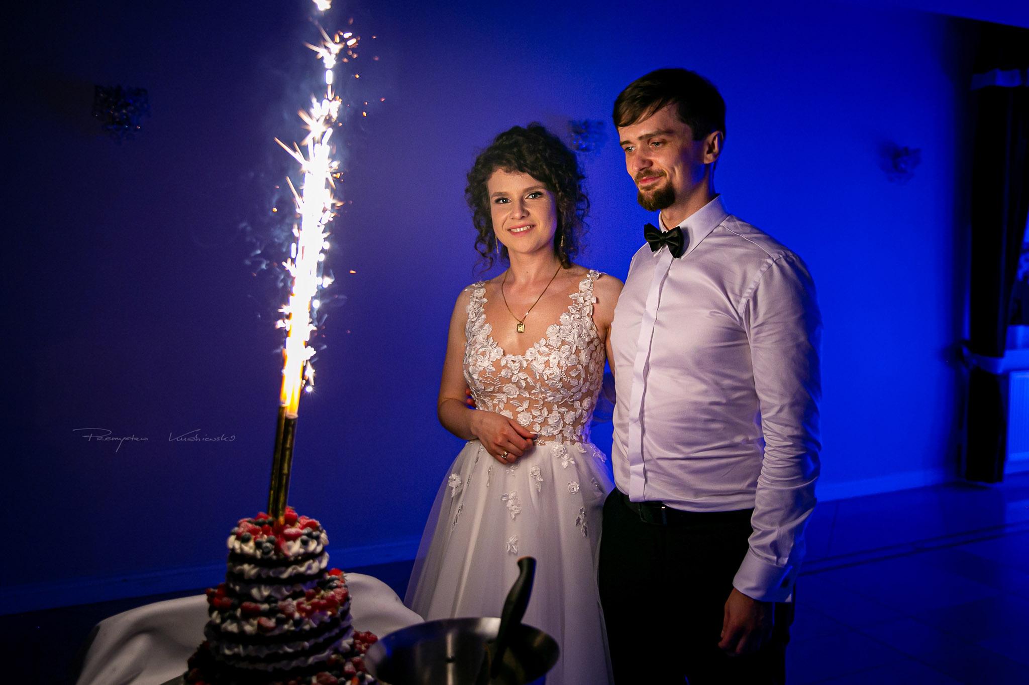 Marta i Daniel tort weselny fotografia slubna empiriafoto pmk